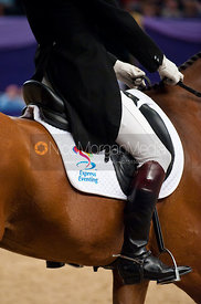 Harry Meade and Tinka's Time - HOYS - Express Eventing Dressage