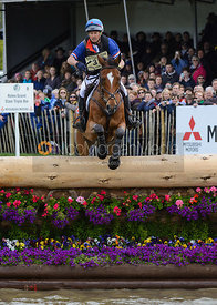 Pascal Leroy and MINOS DE PETRA - Cross Country phase, Mitsubishi Motors Badminton Horse Trials 2014