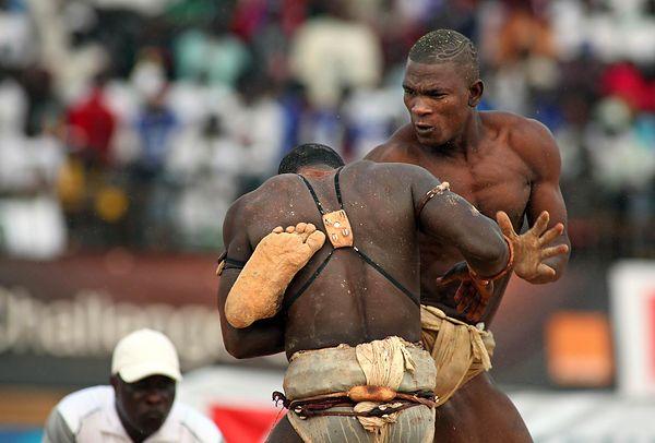 Georgesmerillon Com Senegalese Wrestling