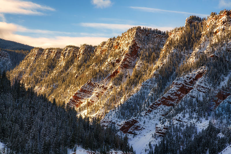 Red Cliffs Winter
