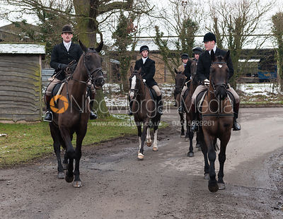 The Cottesmore Hunt at Little Dalby 12/2 photos