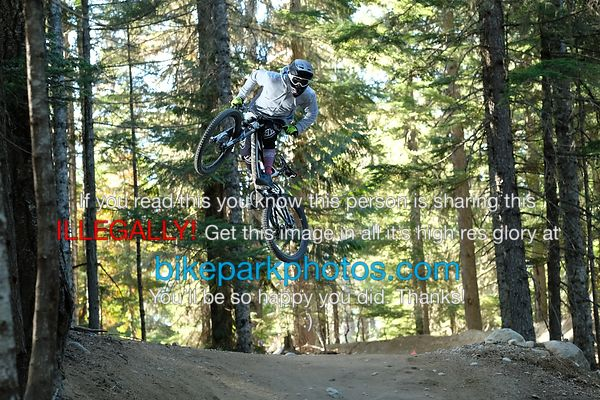 Wednesday Oct 4th  ALine Double bike park photos
