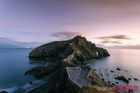 San Juan de Gaztelugatxe at sunset, Basque country, Spain