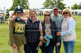 Piggy French, Holly Campbell, Stuart Campbell, Ann Tolhurst, Fairfax & Favor Rockingham Horse Trials 2018