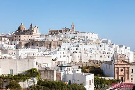 Old town, Ostuni (the white town), Apulia, Italy