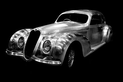Vintage Alfa Romeo Art Photographs