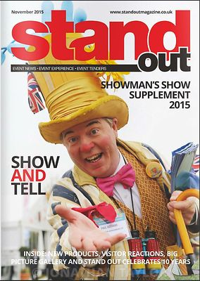 Stand Out magazine - November 2015 - Showman's Show - page 39