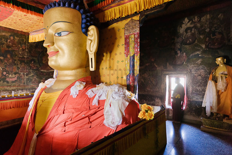 Room Containing Buddha at Shey Palace