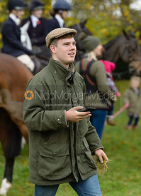 Harry McEuen at the meet - Cottesmore Hunt Opening Meet, 24/10/2017