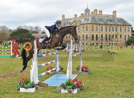 Jodie Amos and MATT - Belton Horse Trials, April 2014