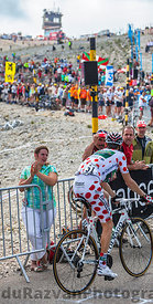 Polka Dot Jersey on Mont Ventoux