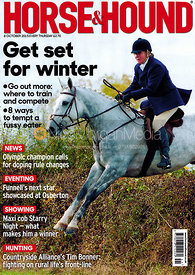 Horse & Hound cover photograph