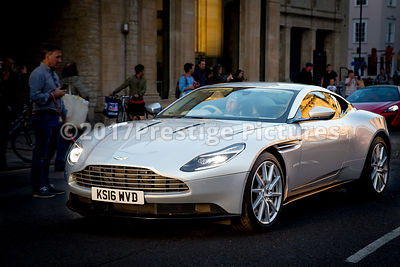 Cogman - Aston Martin DB11 during the filming of Transformers 5 in Oxford