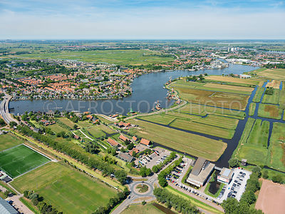 Netherlands, Zaanstad, the Zaans Museum and the Zaanse Schans.  The Zaanse Schans is a tourist destination with the aim of preserving the historical heritage, it consists of museums, windmills, a shipyard, a cheese factory and a clog factory.