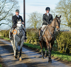 The Quorn Hunt at Cream Gorse Farm