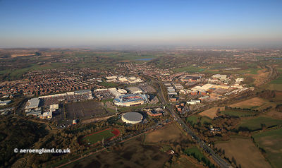 Middlebrook Retail Park, Horwich aerial photograph