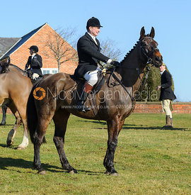 The Cottesmore Hunt at Bleak House