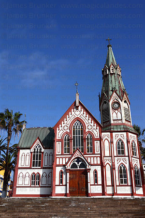 San Marcos church, Plaza Colon, Arica, Region XV, Chile