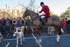 Andrew Osborne MFH - Boxing Day Meet of the Cottesmore Hunt, Oakham 26/12