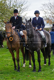 William and Louise Bevin - The Quorn Hunt at John O' Gaunt 9/11/12