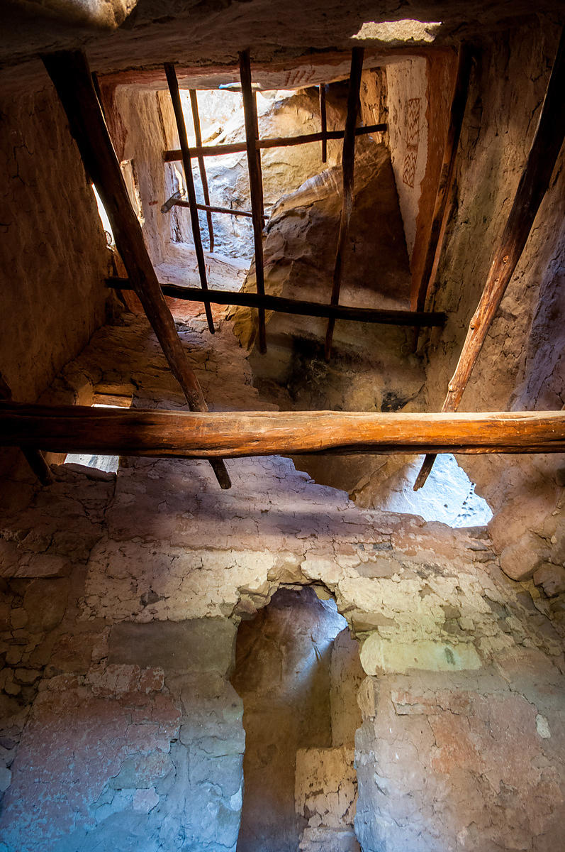 Inside Cliff Dwelling at Grand Palace, Mesa Verde National Park