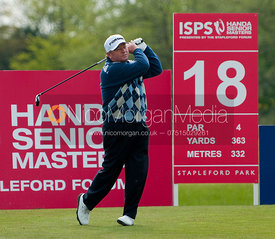 Ian Woosnam playing in The Handa Senior Masters Golf, Stapleford Park