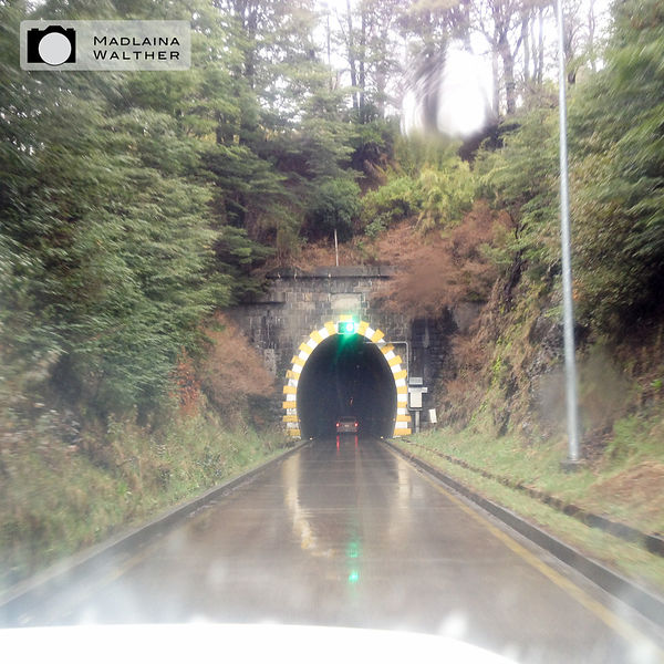 The one and only tunnel I have seen in thousands of kilometers