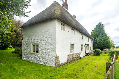 House With Thatched Roof- Avebury, England