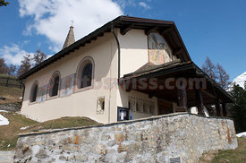 Saint Moritz Suvretta Chapel Regina Pacis Boris Becker Wedding Photo