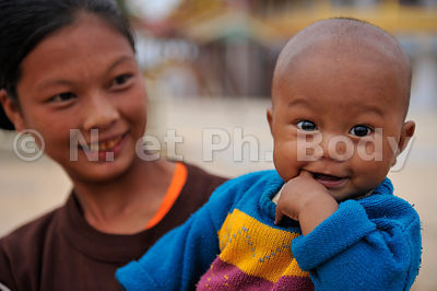 BIRMANIE, LAC INLE, PORTRAIT//BURMA, INLE LAKE, ¨PORTRAIT