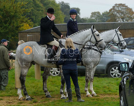 The Finnegans at the meet - The Cottesmore at Langham.