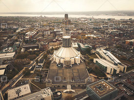 The Metropolitan Cathedral of Liverpool England