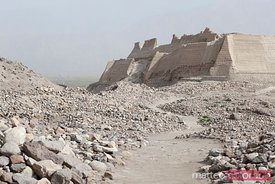 Ancient ruins in Tashkurgan, Xinjiang, China