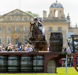 Ruth Edge and NICK OF THYME - Cross Country - Mitsubishi Motors Badminton Horse Trials 2013.