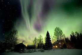 Northern Lights And House