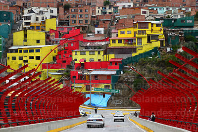 La Paz Buildings Monuments Squares photographs