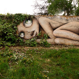 STREET ART MAGNAC EAUZE photos