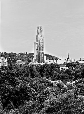 Cathedral of Learning- University of Pittsburgh
