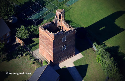 Hussey Tower Boston England UK from the air