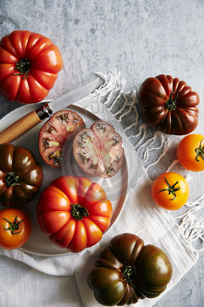 Heirloom tomato picnic
