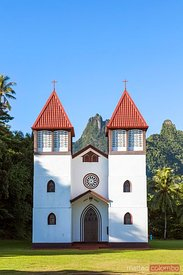 Church of the Holy Family, Haapiti, Moorea