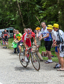 The Cyclist Edet Nicolas - Tour de France 2012
