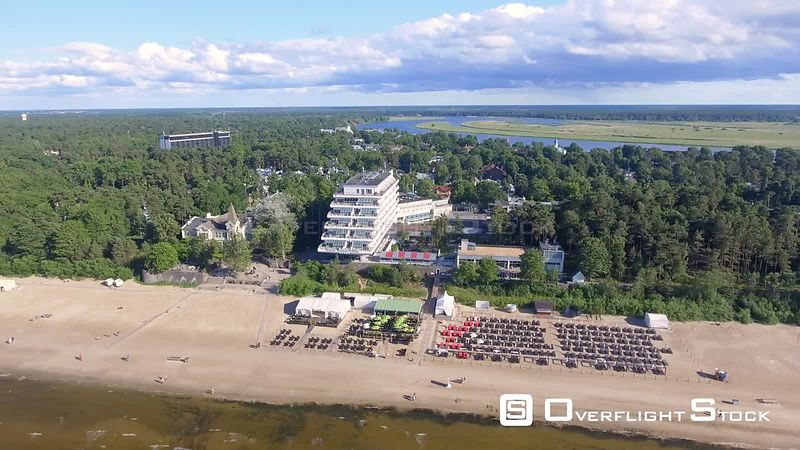 A Jurmala Beach Resort Hotel, Latvia