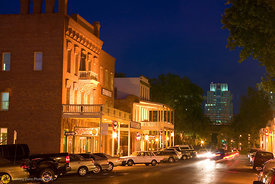 Evening in Old Sacramento #3