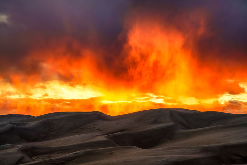 Dunes on Fire