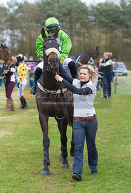 Chip N Pin (Miss J. Mason), The Ladies Open Race - The Quorn at Garthorpe 21st April 2013.