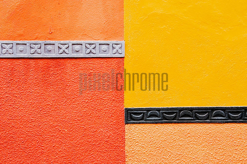 Colorful Wall and Decoration