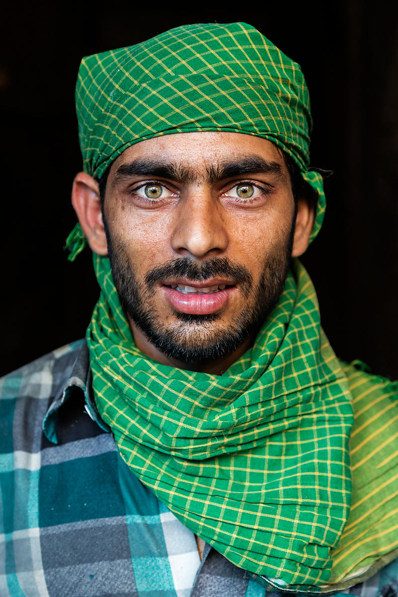 Portrait of a Spice Market Worker