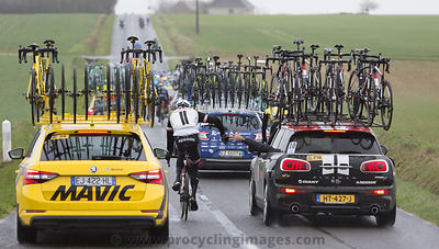 Teamwork - Paris-Nice 2017