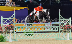 Taylor Greenwood and Two Tone III, Horse of the Year Show 2010